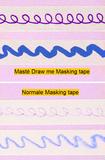 Masking tape Masté draw me fruit_