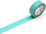 MT Masking tape diagonal green_