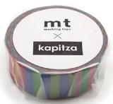 MT Masking tape kapitza candy stripe_