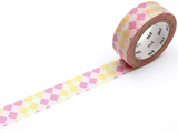 MT Masking tape checkers stripe pink_