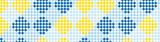 MT Masking tape checkers stripe blue_