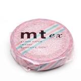 MT Masking tape SLIM pink flower stripe_