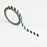 Studio Ins & Outs Masking tape SLIM Black stripes_