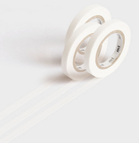 MT Masking tape SLIM K matte white_