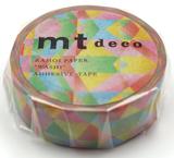 MT Masking tape polygon gradation vivid_