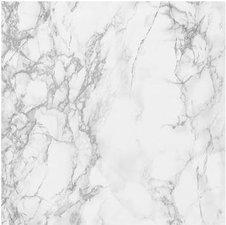 Plakfolie marmer grijs-wit (levering rond 23/8)