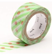 MT Masking tape dot x stripe