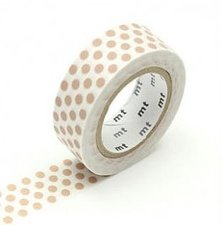 MT Masking tape dot milk tea
