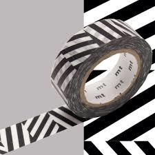 MT Masking tape strepen seesaw zwart