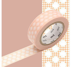 MT Masking tape dot orange