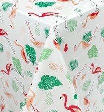 85x140cm Restje tafelzeil flamingo jungle