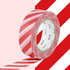 MT Masking tape strepen rood