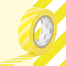 MT Masking tape strepen lemon