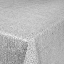 30x140cm Restje tafelzeil linnux grijs