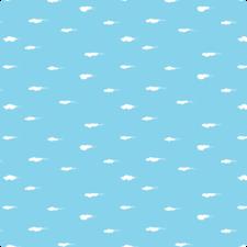 Plakfolie Lola DayDream sky blue  300x45cm
