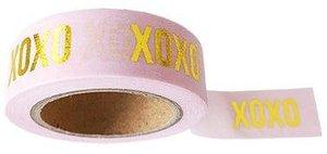 Studio Stationery Washi tape roze XOXO