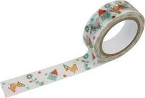 Masking tape Shinzi Katoh - Happy Duck