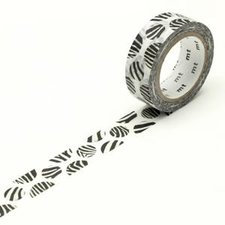 MT Masking tape dot zebra