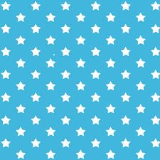 Plakfolie sterren blauw (45cm)
