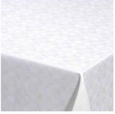 95x140cm Restje tafelzeil Damast vierkantjes