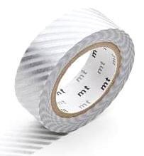MT Masking tape stripe silver