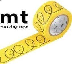 MT Masking tape smile geel