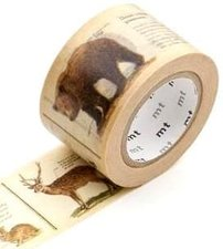 MT Masking tape encyclopedia animals