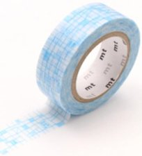 MT Masking tape line pale blue