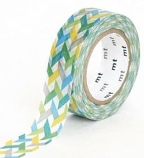 MT Masking tape slash green