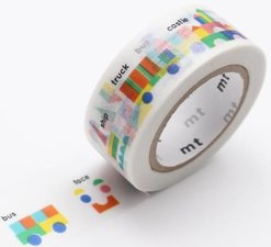MT Masking tape kids building  blocks