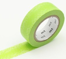MT Masking tape water drop gradation green