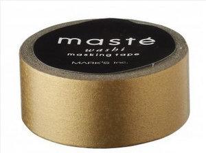 Masking tape Masté goud