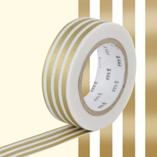 MT Masking tape border gold-2