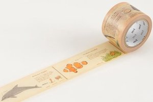 MT Masking tape encyclopedia marine creature