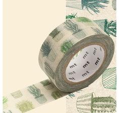 MT Masking tape cactus