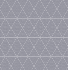 50x140cm Restje wasbaar tafelzeil triangle grijs