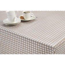 50x140cm Restje tafelzeil ruitje taupe