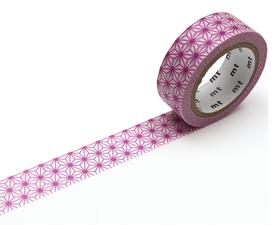 MT Masking tape asanoha wakamurasaki