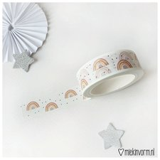 MIEKinvorm Masking tape regenboog