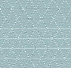 60x140cm Restje tafellinnen triangle mintgroen (wasbaar)