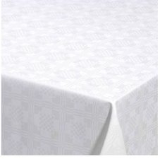 65x140cm Restje tafelzeil Damast vierkantjes