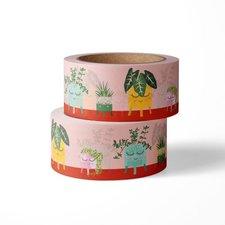 Studio Inktvis Masking tape Planten