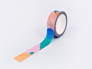 The Completist Masking tape Primary Miami