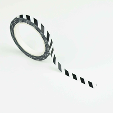 Studio Ins & Outs Masking tape SLIM Black stripes