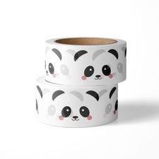 Studio Inktvis Masking tape Panda