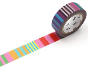 MT Masking tape kapitza candy stripe