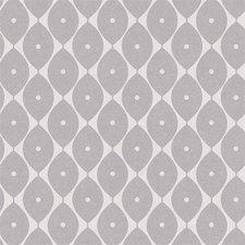 30x140cm Restje tafelzeil abstracte ovaaltjes grijs