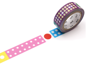 MT Masking tape Polka Dot Ice