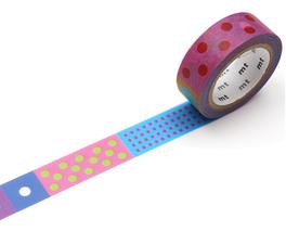 MT Masking tape Polka Dot Vivid