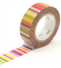 MT Masking tape multi border vivid